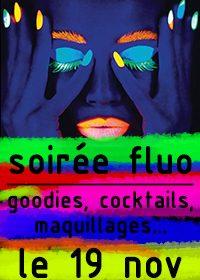 Soirée fluo à la discothèque du Lodge de Ploermel